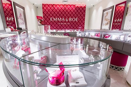 Emma & Roe Jewellery Fitout